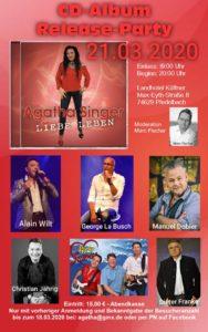 Gast-Auftritt bei Aghata Singer - Zur Album-Release-Party @ Landhotel Küffner