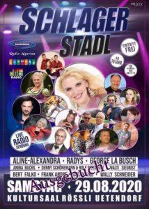 SCHLAGER STADL - Live Radio Sendung @ Kultursaal Rössli