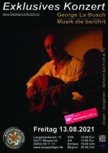 Exklusives Konzert in Wuppertal @ Wuppertiger Instyle Showgaststätte